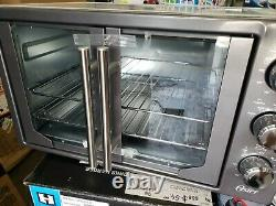 Oster French Door Countertop Oven with Turbo Convection Heat TSSTTVFDXL-CH
