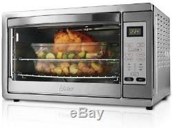 Oster XL Digital Countertop Oven Convection Stainless Steel Bake Toast Pizza