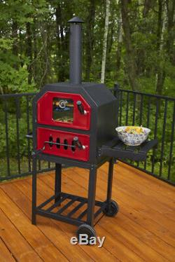 Pit Boss Charcoal Pizza Oven Outdoor Baking Bread Cake Meat Portable Grill