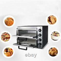 Pizza Bread Making Machines Baking 110V Commercial Ovenware Electric Pizza Oven