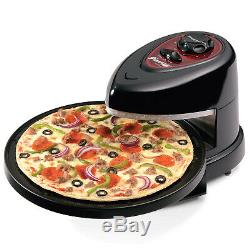 Pizza Plus Rotating Oven Homemade Pizza Maker Non Stick Hot Pan Plate Baking