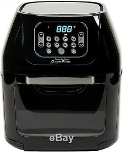 Power Air Fryer Oven All-in-One 6 Quart Plus Dehydrator Best Pro Rotisserie New