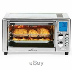 Power Air Fryer Oven As Seen On TV 360 Toaster Bake Broil Slow Cook Rotisserie