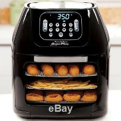 Power Air Fryer Oven Plus 6QT Family Sized 7 in 1 Professional Cooking Low Fat