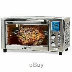 Power AirFryer Oven 360 NEW Dehydrator Roast Grill Bake Rotisserie withExtras