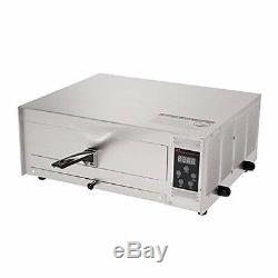 Professional Stainless Steel Pizza Pretzel Cookie Baking Oven Temperature 12