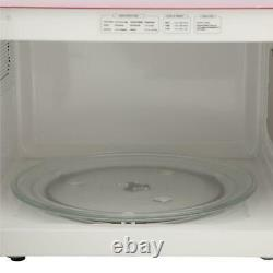 RCA Countertop Microwave Oven Kitchen Cooking Reheating Electric 1.1 Cu Ft Red