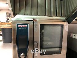 Rational Steamer Cook Combi Oven Self Cooking Steam Center Roasts Bakes Finishes