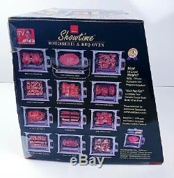 Ronco Showtime Rotisserie Oven 5000 Series Platinum Edition Factory Sealed