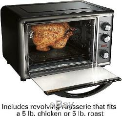 Rotisserie Convection Toaster Oven Countertop Large Home Kitchen Food Cooking