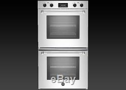 Stainless Steel Double Wall Convection Oven Electric Kitchen Built In Oven