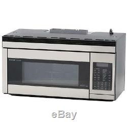 Stainless Steel Over the Range Convection Microwave Oven OTR Baking Sensor Cook
