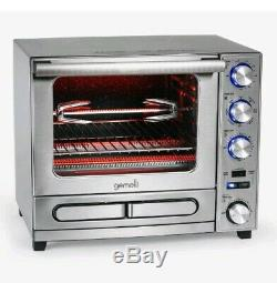 The Gemelli Twin Oven, Convection Oven with Built-In Pizza Drawer and Rotisserie