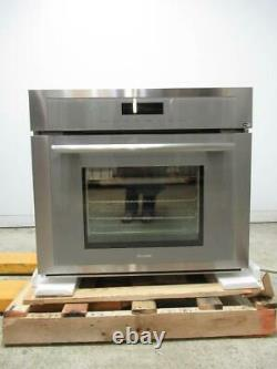 Thermador 30 Steam Convection Self-Clean SS Wi-Fi Wall Oven MEDS301WS Excellent