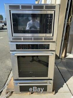 Thermador Medmcw31jp 30 Masterpiece Triple Combo Wall Oven