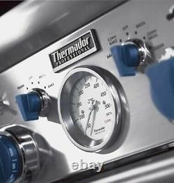 Thermador PD366BS 36 Dual Fuel Pro Grand Range 6 Burners Stainless