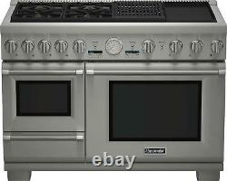 Thermador Pro Grand PRD48NCSGU 48 Pro-Style Dual Fuel Range with Warming Drawer