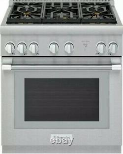 Thermador Pro Harmony 30 5 Sealed Star Burners Pro-Style Gas Range PRG305WH