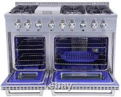 Thor Kitchen HRD4803U 48 Dual Fuel Range with Double Oven FREE SHIPPING
