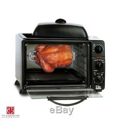 Toaster Oven Rotisserie Griddle Grill Electric ALL-IN-ONE Kitchen Cooking