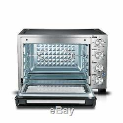 Toshiba MC32ACG-CHSS Convection Toaster Oven, Stainless Stainless Steel
