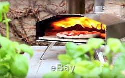 UUNI 3 Wood Pellet Fired Pizza Oven With Stone Baking Board Outdoor Indoor Bake