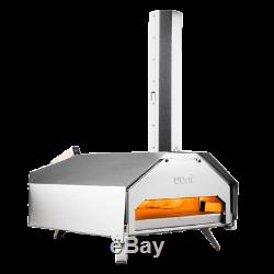 UUNI Pro Portable Pro Wood Fired Pizza Oven With Stone Baking Board- & Cover