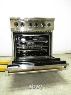 Viking 30 4.7 Cu. Ft MagneQuick Stainless Electric Induction Range VIR53014BSS