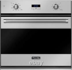 Viking RVSOE330SS 30 Single Electric Wall Convection Oven 4.3 ft³ in Stainless